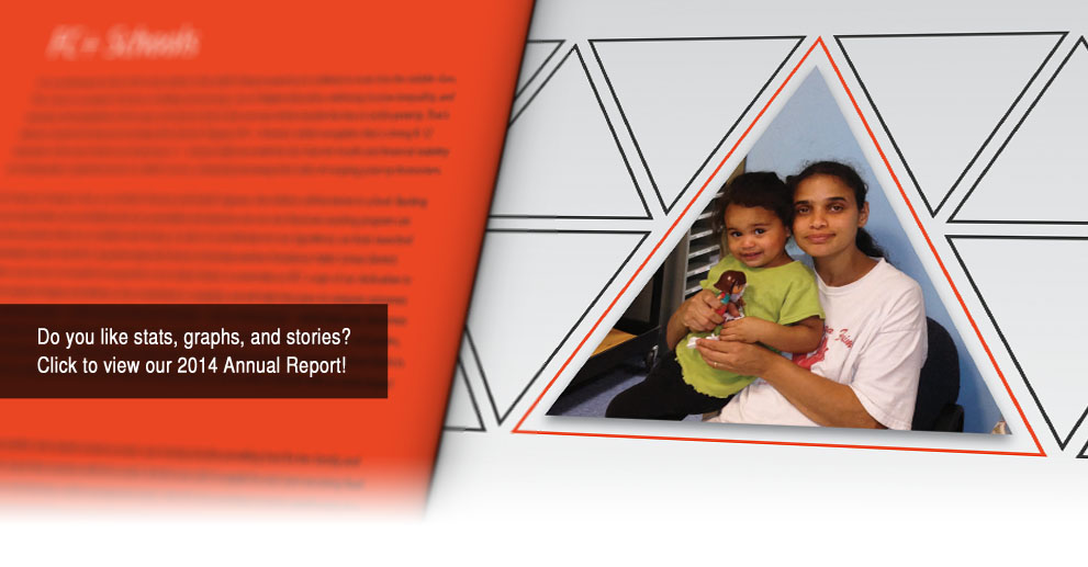 Like stats, graphs, and stories? Check out our 2014 Annual Report!